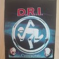 """D.R.I. """"Crossover"""" backpatch"""