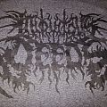 Iniquitous Deeds - Black Logo on Dark Grey Tshirt