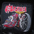 Saxon motorcycle patch