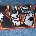 Kiss - Patch - Kiss embroidered back patch