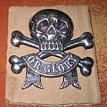 Motörhead - Other Collectable - 17th 21st Lancers cavalry cap badge DEATH OR GLORY skullL cross bones officers