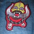 Motörhead - Patch - Motorhead - Homer Simpson embroidered back patch