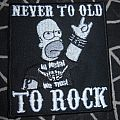 Metal - Patch - Simpson metal patch