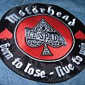 Motörhead - Patch - Motorhead embroidered circular back patch