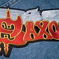 Saxon - Patch - Saxon embroidered back patch