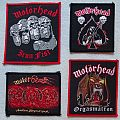 Motörhead vintage patch collection