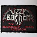 "Lizzy Borden ""The Murderess Metal Roadshow"" vintage patch"