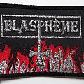 Blasphème - Patch - Blasphème vintage patch 80s