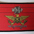 "W.A.S.P. ""The Last Command"" vintage woven patch"