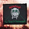 Motörhead No Sleep til Hammersmith vintage woven patch