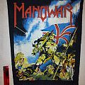 Manowar Hail To England Backpatch