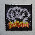 Destruction Eternal Devastation vintage patch