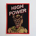 High Power - Patch - HIGH POWER debut patch