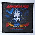 "Annihilator ""Never, Neverland"" vintage woven patch"