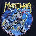 """MANOWAR vintage original """"Hail To England"""" Tour- Sweatshirt Shirt 1984"""