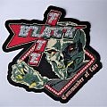 """BLACK FATE """"Commander of Fate"""" woven shape patch"""
