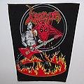 Venom Cronos in Fire vintage Backpatch