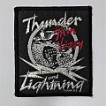"""Thin Lizzy """"Thunder and Lightning"""" Tour ´83 vintage patch"""