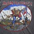 Iron Maiden The Trooper vintage shirt UK print