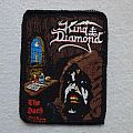 "King Diamond ""The Dark Sides"" printed patch"