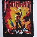 Manowar Kings of Metal 80s vintage printed patch