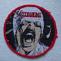 "Scorpions ""Blackout"" vintage patch red border"