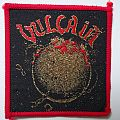 Vulcain vintage patch red border Rock 'n' Roll Secours