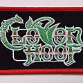 Cloven Hoof official Logo Patch red borders