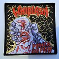 "WHIPLASH ""Power and Pain"" woven patch"