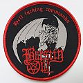 Burstin Out - Hell Fucking Commands... round Patch