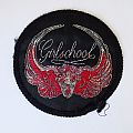 Girlschool patch black border
