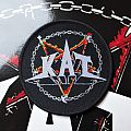 KAT Metal and Hell woven circular patch