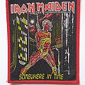 Iron Maiden Somewhere In Time original Patch