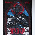 "DIO ""Dream Evil"" official vintage woven patch"