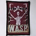 "W.A.S.P. - ""WASP"" / ""Winged Assassins"" vintage official patch"