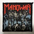 MANOWAR Fighting the World vintage patch