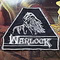"Warlock vintage original ""Witch"" triangle patch"