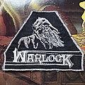 "Warlock - Patch - Warlock vintage original ""Witch"" triangle patch"
