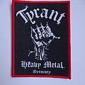 Tyrant - Heavy Metal Germany Patch