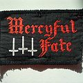 Mercyful Fate woven patch for SABBATRINITY