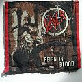"Slayer ""Reign In Blood"" vintage woven patch"