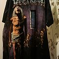 "Megadeth ""Countdown To Extinction"" all-over vintage t-shirt"