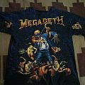 Megadeth vintage 1991 all-over t-shirt
