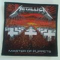 "Metallica ""Master Of Puppets"" offical woven patch"