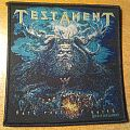 "Testament ""Dark Roots Of Earth"" woven patch"