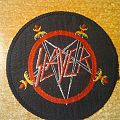 Slayer circle swords logo vintage woven patch