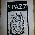 Spazz screen printed patch
