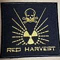 Red Harvest embroidered patch