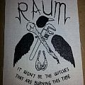 Blackbird Raum screen printed patch