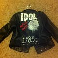 Billy Idol Punk Leather Jacket